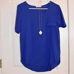 Tops - Blue blouse